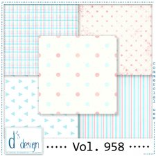 Vol. 958 - Fifties papers - by Doudou's Design