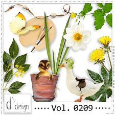 Vol. 0209 - Nature Mix by Doudou's Design
