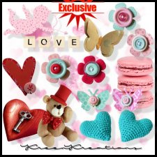 EXCLUSIVE Valentine Day by Kreen Kreations