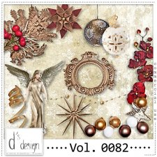 Vol. 0082 to 0084 Christmas Mix by Doudou Design