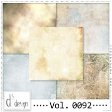 Vol. 0091 to 0093 Winter Papers BUNDLE by Doudou Design