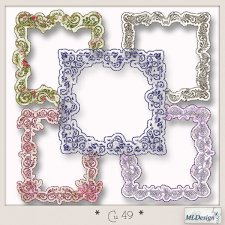 CU set 49 Frames by MLDesigns