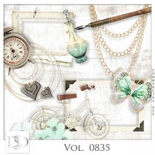 Vol. 0835 Vintage Mix by D's Design