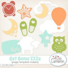 Get Some ZZZs Template Makers by Kim Cameron