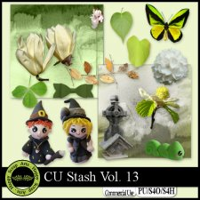 EXLUSIVE CU Stash Vol. 13 mini kit by Happy Scrap Arts