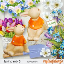 Spring mix 5 by reginafalango