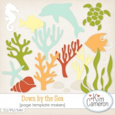 Down by the Sea Templates by Kim Cameron