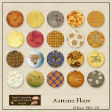 Autumn Flairs Volume 1 by Beckys Creations