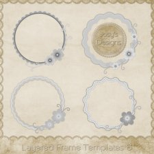 Layered Frame Templates 6 by Josy