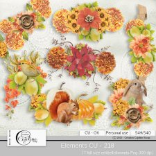 Elements CU - 218 by Cajoline-Scrap