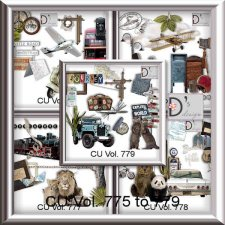 Vol. 775 to 779 Travel-World by Doudou Design