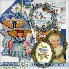 Designer Elements Potpourri Vol 07 by ADB Designs