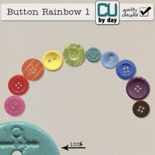 Rainbow Buttons - CUbyDay EXCLUSIVE