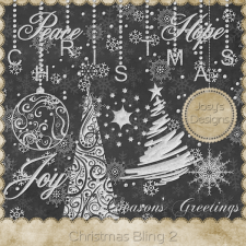 Christmas Bling 2 by Josy
