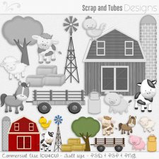 Farm Templates CU4CU by Scrap and Tubes