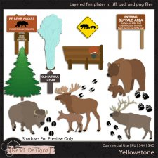 EXCLUSIVE Layered Yellowstone Templates By NewE Designz