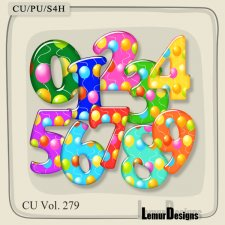 CU Vol 279 Numbers by Lemur Designs