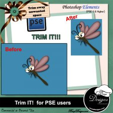 Trim It for PSE users by Boop Designs