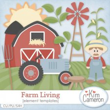 Farm Living Templates by Kim Cameron