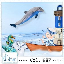 Vol. 987 - Sea Mix by Doudou's Design