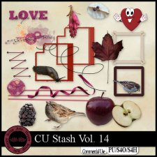 EXLUSIVE CU Stash Vol. 14 mini kit by Happy Scrap Arts