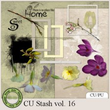EXLUSIVE CU Stash Vol. 16 mini kit by Happy Scrap Arts