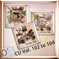 Vol. 102, 103 & 104 Element BUNDLE by Doudou Design