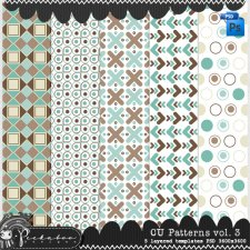 Pattern Templates vol 3 by Peek a Boo Designs