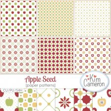 Apple Seed Patterns by Kim Cameron