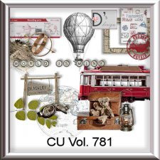 Vol. 781 - Travel-World by Doudou's Design