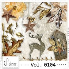 Vol. 0104 Christmas Mix by Doudou Design