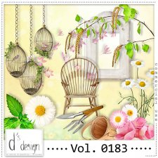 Vol. 0183 Spring Nature Mix by Doudou Design