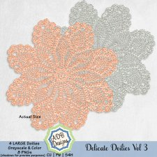 Delicate Doilies Vol 3 Elements by ADB Designs