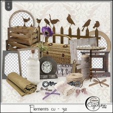 Elements CU - 32 by Cajoline-Scrap
