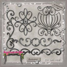 Vol. 115 Wrought Iron EXCLUSIVE bymurielle