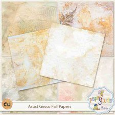 Artist Gesso Fall Papers EXCLUSIVE by PapierStudio Silke