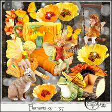 Elements CU - 317 Fairy garden inspiration by Cajoline-Scrap