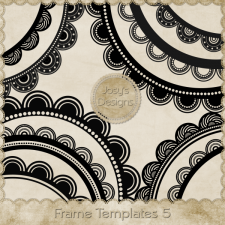 Frame Layered Templates 5 by Josy