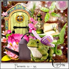 Elements CU - 315 Fairy garden inspiration by Cajoline-Scrap