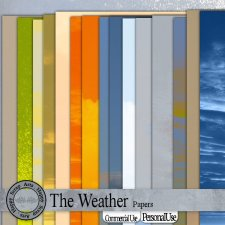 The Weather Papers by Happy Scrap Art