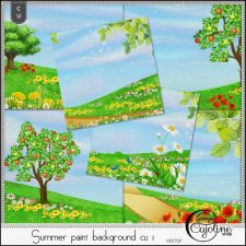 Summer paint backgrounds CU1 by Cajoline-Scrap