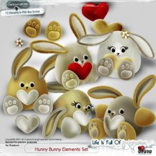 Hunny Bunny Elements Set