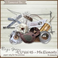 CU vol 45 Mix Elements by Florju Designs