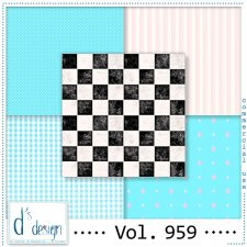 Vol. 959 - Fifties papers - by Doudou's Design