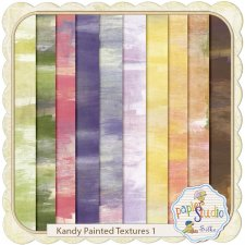 Kandy Painted Textures EXCLUSIVE by PapierStudio Silke