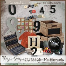 CU vol 65 Mix Elements by Florju Designs