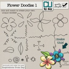 Build-A-Doodle Flowers