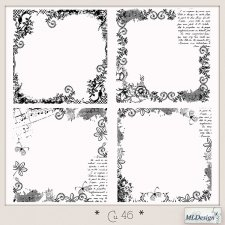 CU set 46 Overlays Borders by MLDesigns