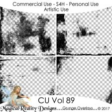 Grunge Overlays - CU Vol 89 by MagicalReality Designs