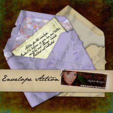 Envelope - action by Monica Larsen